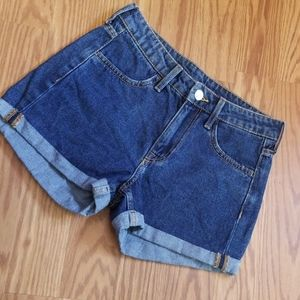 Demin shorts 0